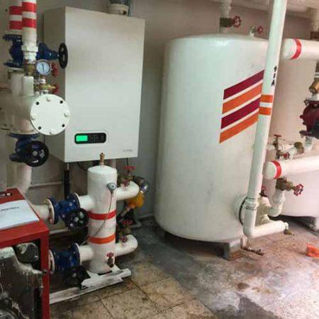 تاسیسات گرمایش مرکزی -دیگ های چگالشی atag