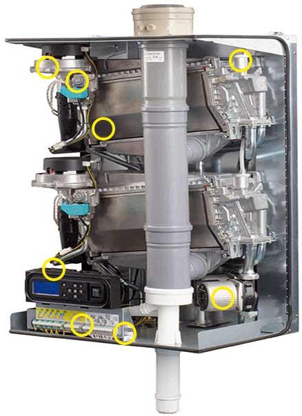 بویلر چگالشی atag- سیستم گرمایش مرکزی